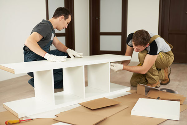 Möbel montieren mit Ruck Zuck Transporte